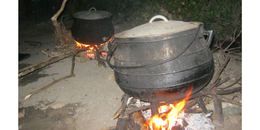 Potjie Kos, Port St Johns to Coffee Bay Hike, Wild Coast, South Africa